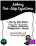 Solving One-Step Equations: Step-by-Step Guides
