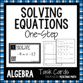 Solving One-Step Equations Task Cards with QR codes