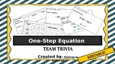 Solving One-Step Equations Team Trivia EDITABLE