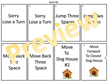 Solving One-Step Equations – The Great Weiner Dog Adventure Board Game
