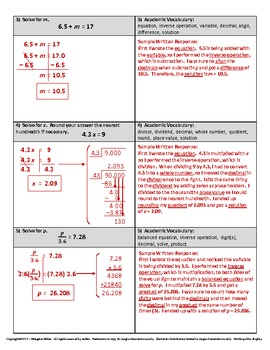 Solving One-Step Equations with Fractions and Decimals