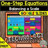 Solving One-Step Equations with a Scale GOOGLE SLIDES DIST