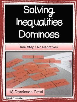 Solving One Step Inequalities