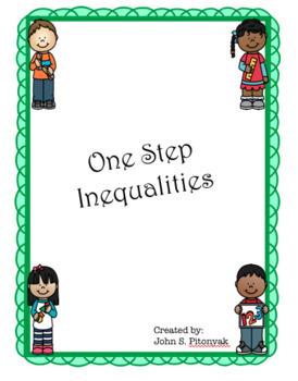 Solving One-Step Inequalities