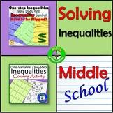 Solving One Step Inequalities Bundle