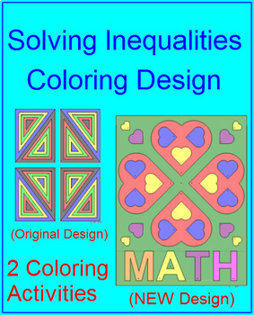 Solving One Step Inequalities 1 Coloring Activity Tpt