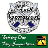 Solving One Step Inequalities - Conquest Game
