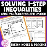 Solving One Step Inequalities Using Multiplication/Divisio
