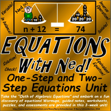 Solving One and Two Step Equations Unit: All Operations an