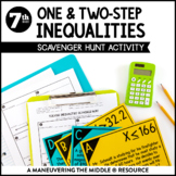 Solving One and Two-Step Inequalities