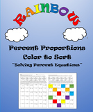Percent Proportions: Color to Sort  7.RP