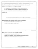 Solving Percent Story Problems Lesson