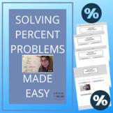 Solving Percent Worksheets