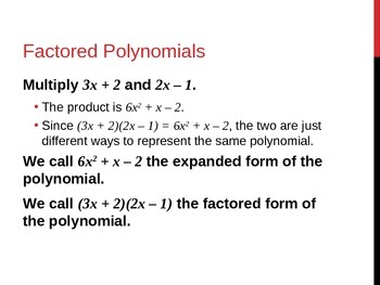 Solving Polynomial Equations in Factored Form