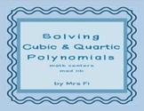 Polynomials Solving Math Centers