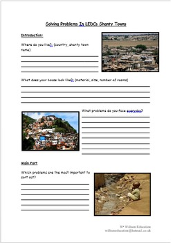 Solving Problems In LEDC Shanty Towns