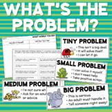 Big Problem/Little Problem Solving Problems Social Skills
