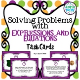 Solving Problems Using Expressions and Equations Task Cards: 7.EE.3