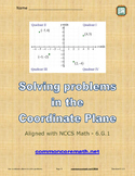 Solving Problems in the Coordinate Plane - 6.G.3