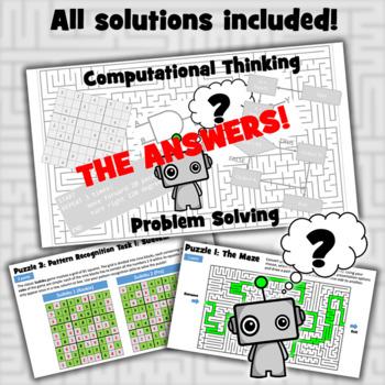 Computational Thinking Problem Solving