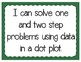 Dot Plot Problem Solving Interactive Notebook & Quick Check TEKS 4.9B
