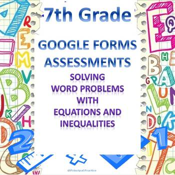 Solving Problems with Equations and Inequalities Google Fo