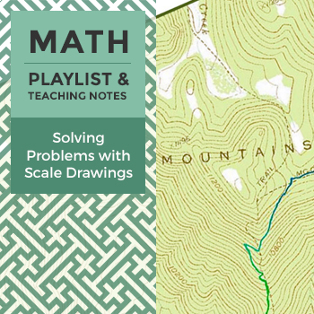 Solving Problems with Scale Drawings - Playlist and Teaching Notes