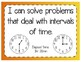 Solving Problems with Time Interactive Notebook Activity & Quick Check TEKS 4.8C