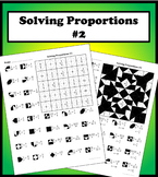 Solving Proportions #2 Color Worksheet