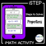 Solving Proportions Activity   iStep