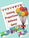 Solving Proportions Balloons Game