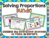 Solving Proportions Bundle