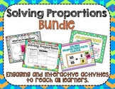 Solving Proportions Bundle