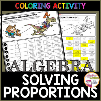 Solving Proportions Coloring Activity