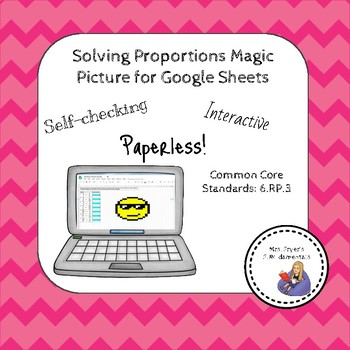 Solving Proportions Magic Picture For Google Sheets