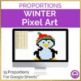 Solving Proportions Pixel Art Activity Google Sheets