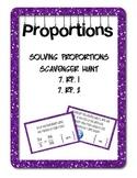 Solving Proportions Scavenger Hunt