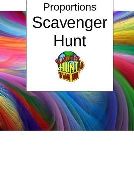 Solving Proportions Scavnger Hunt