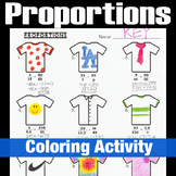 Solving Proportions T-Shirt Coloring Activity
