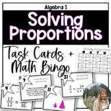 Solving Proportions (Task Cards)