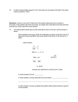 Solving Proportions Worksheet