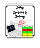 Solving Quadratic Equation by Factoring DISTANCE LEARNING