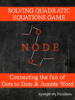 Solving Quadratic Equations Activity (FREE Socrative Quiz Code in Description)