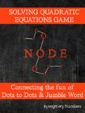 Solving Quadratic Equations Activity (FREE Socrative Quiz