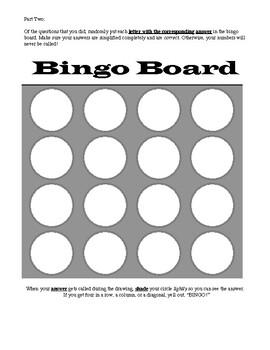Solving Quadratic Equations Bingo - Real and Complex
