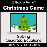 Solving Quadratic Equations   Christmas Decoration Game  
