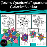 Solving Quadratic Equations Color Sheets