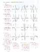 Solving Quadratic Equations - Compare Algebraically, Table and Graph