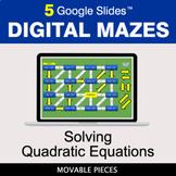 Solving Quadratic Equations | Digital Mazes Distance Learn