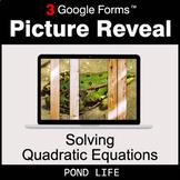 Solving Quadratic Equations - Google Forms Math Game   Dis